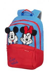 Samsonite Dětský batoh Disney Ultimate 2.0 M Disney Stripes 16 l – modrá