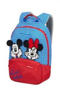 Samsonite Dětský batoh Disney Ultimate 2.0 S+ Disney Stripes 11 l – modrá