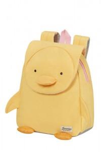Samsonite Dětský batoh Happy Sammies Eco S Duck Dodie 7,5 l – žlutá