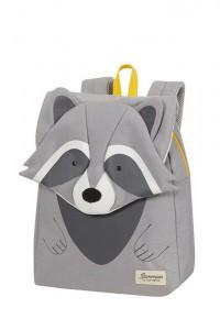Samsonite Dětský batoh Happy Sammies S+ Raccoon Remy 11 l – šedá