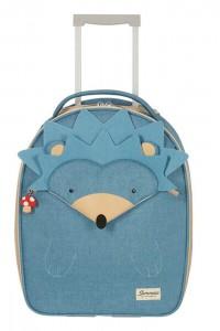 Samsonite Dětský cestovní kufr Happy Sammies Upright Hedgehog Harris 24 l – modrá