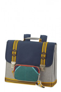 Samsonite Školní aktovka Sam School Spirit M 15 l – AMERICAN GREY DENIM