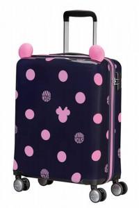 Samsonite Kabinový cestovní kufr Color Funtime Disney Minnie 35 l – černá