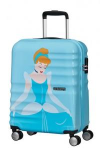American Tourister Kabinový cestovní kufr Wavebreaker Disney Deluxe Princess 36 l – Cinderella