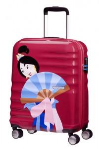 American Tourister Kabinový cestovní kufr Wavebreaker Disney Deluxe Princess 36 l – Mulan