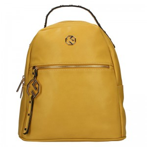 Dámský batoh Marina Galanti Izabela – žlutá