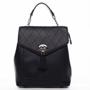 Dámský módní batůžek David Jones Zoe – černá