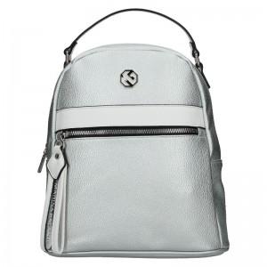 Dámský batoh Marina Galanti Zelda – stříbrná