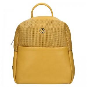 Dámský batoh Marina Galanti Quinta – žlutá