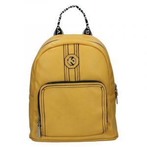 Dámský batoh Marina Galanti Gnela – žlutá