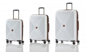 Titan Paradoxx 4w S,M,L White – sada 3 kufrů