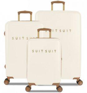 Sada cestovních kufrů SUITSUIT® TR-7104/3 – Fab Seventies Antique White