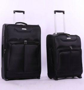 Sada cestovních kufrů AEROLITE T-9985/2 – černá