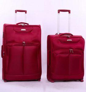 Sada cestovních kufrů AEROLITE T-9985/2 – vínová
