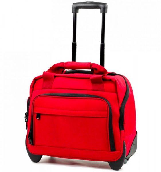 Kufr příruční na notebook MEMBER'S CM-0034 – červená