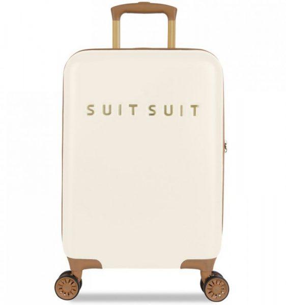 Kabinové zavazadlo SUITSUIT® TR-7104/3-S – Fab Seventies Antique White