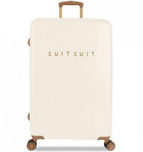 Cestovní kufr SUITSUIT® TR-7104/3-L – Fab Seventies Antique White