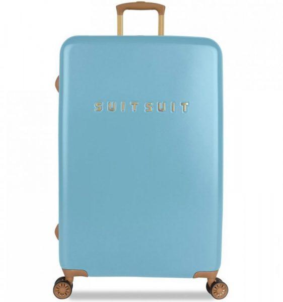 Cestovní kufr SUITSUIT® TR-7105/3-L – Fab Seventies Reef Water Blue
