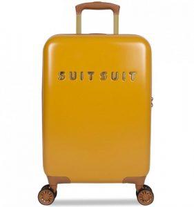 Kabinové zavazadlo SUITSUIT® TR-7107/3-S – Fab Seventies Lemon Curry