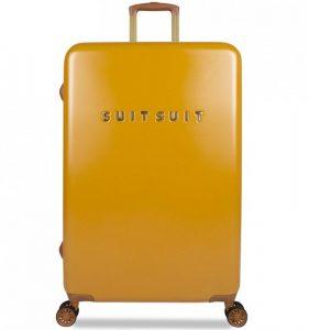 Cestovní kufr SUITSUIT® TR-7107/3-L – Fab Seventies Lemon Curry