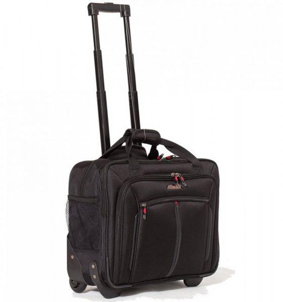 Kufr příruční na notebook AEROLITE WLB31 – černá