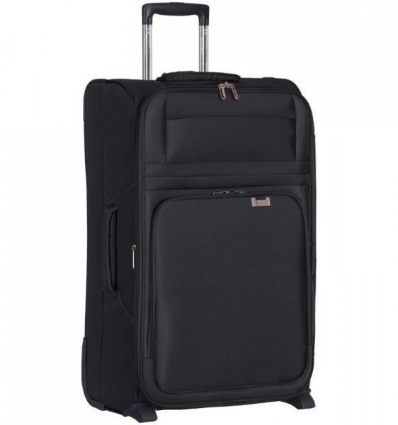 Cestovní kufr AEROLITE T-9515/3-M – černá