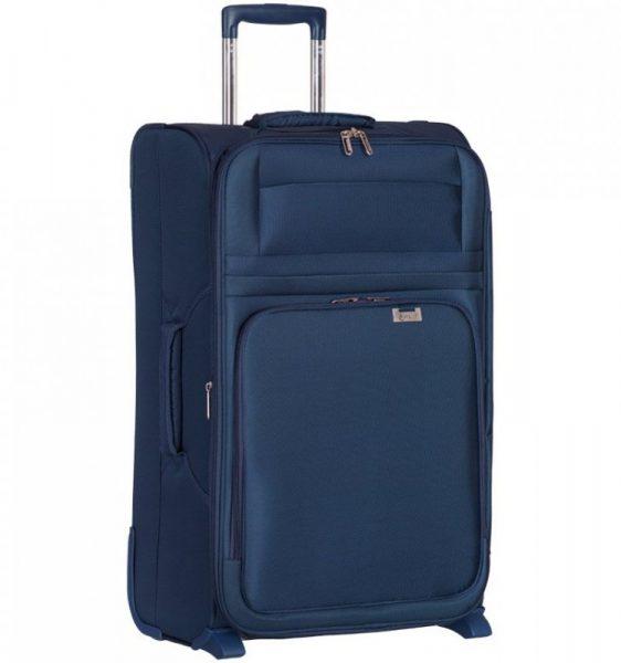 Cestovní kufr AEROLITE T-9515/3-M – tmavě modrá