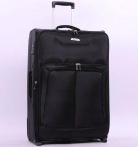 Cestovní kufr AEROLITE T-9985/2-M – černá
