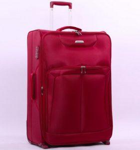 Cestovní kufr AEROLITE T-9985/2-M – vínová