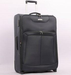 Cestovní kufr AEROLITE T-9985/2-M – šedá