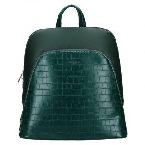 Módní dámský batoh David Jones Thala – zelená