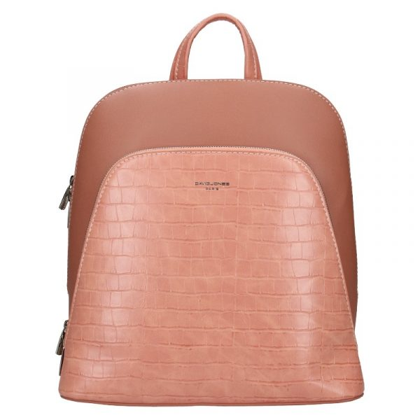 Módní dámský batoh David Jones Thala – růžová