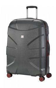 Titan X2 4w L cestovní kufr TSA 76 cm 103 l Black Brushed