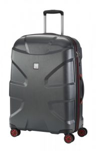 Titan X2 4w M+ cestovní kufr TSA 71 cm 90 l Black Brushed