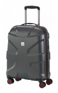 Titan X2 4w S palubní kufr TSA 55 cm 40 l Black Brushed
