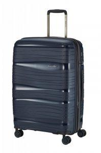 Travelite Motion M cestovní kufr PP TSA 67 cm 71/82 l Navy