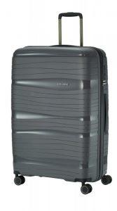 Travelite Motion L cestovní kufr PP TSA 77 cm 105 l Anthracite