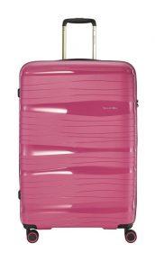 Travelite Motion L cestovní kufr PP TSA 77 cm 105 l Rose