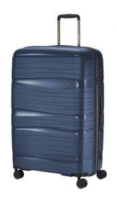 Travelite Motion L cestovní kufr PP TSA 77 cm 105 l Navy