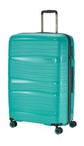 Travelite Motion L cestovní kufr PP TSA 77 cm 105 l Mint