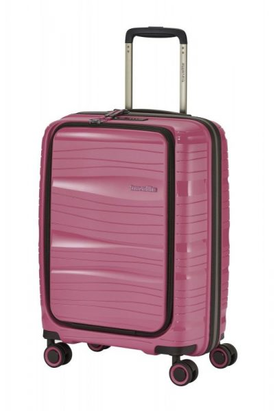 Travelite Motion S palubní kufr PP NB 15,6″ TSA 55 cm 43 l Rose