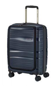 Travelite Motion S palubní kufr PP NB 15,6″ TSA 55 cm 43 l Navy
