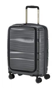 Travelite Motion S palubní kufr PP NB 15,6″ TSA 55 cm 43 l Anthracite