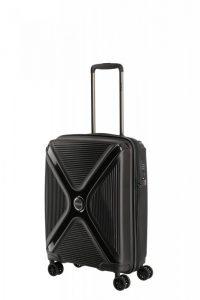 Titan Paradoxx 4w S palubní kufr TSA 55x40x20 cm 40 l Black Uni