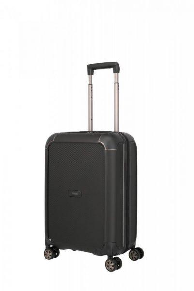 Titan Compax 4w S palubní cestovní kufr TSA 55 cm 43 l Black