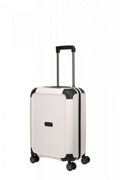 Titan Compax 4w S palubní cestovní kufr TSA 55 cm 43 l White