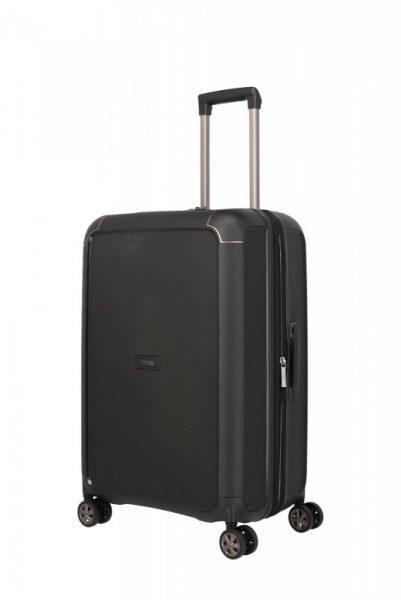 Titan Compax 4w M cestovní kufr TSA 67 cm 75-83 l Black
