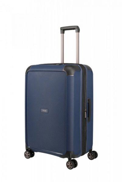 Titan Compax 4w M cestovní kufr TSA 67 cm 75-83 l Navy
