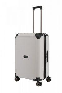 Titan Compax 4w M cestovní kufr TSA 67 cm 75-83 l White