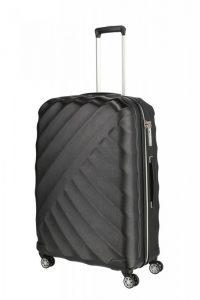 Titan Shooting Star 4w L cestovní kufr TSA 77 cm 109 l Black